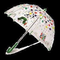 子供用透明傘ドット柄